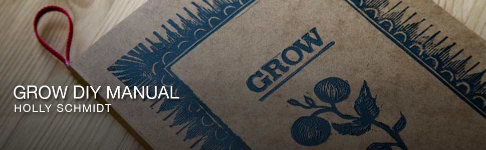 Grow diy Manual – Book Publication