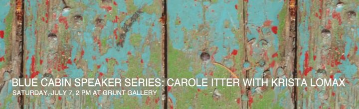 BLUE CABIN SPEAKER SERIES: CAROLE ITTER